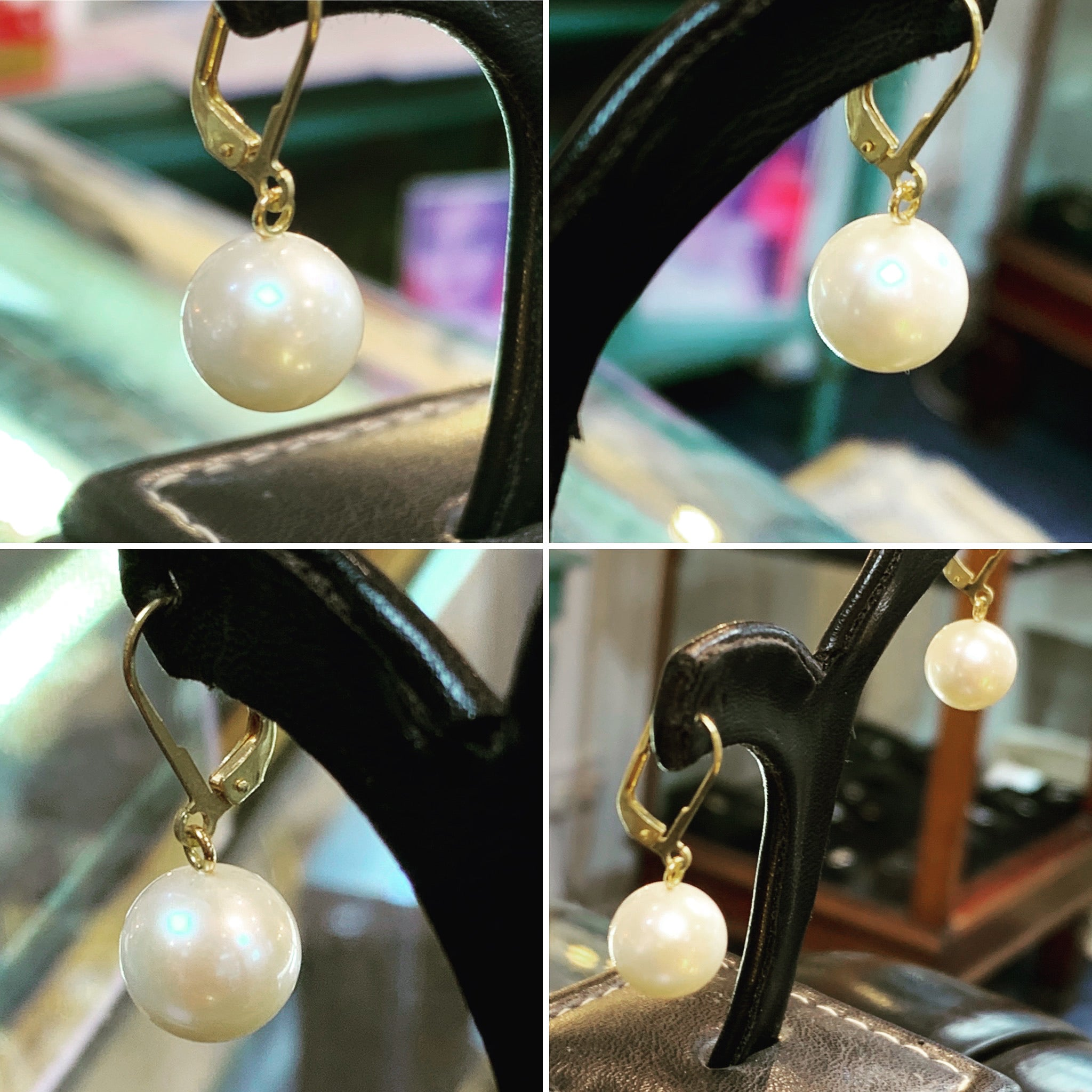 Akoya Pearl Drop Earrings 8