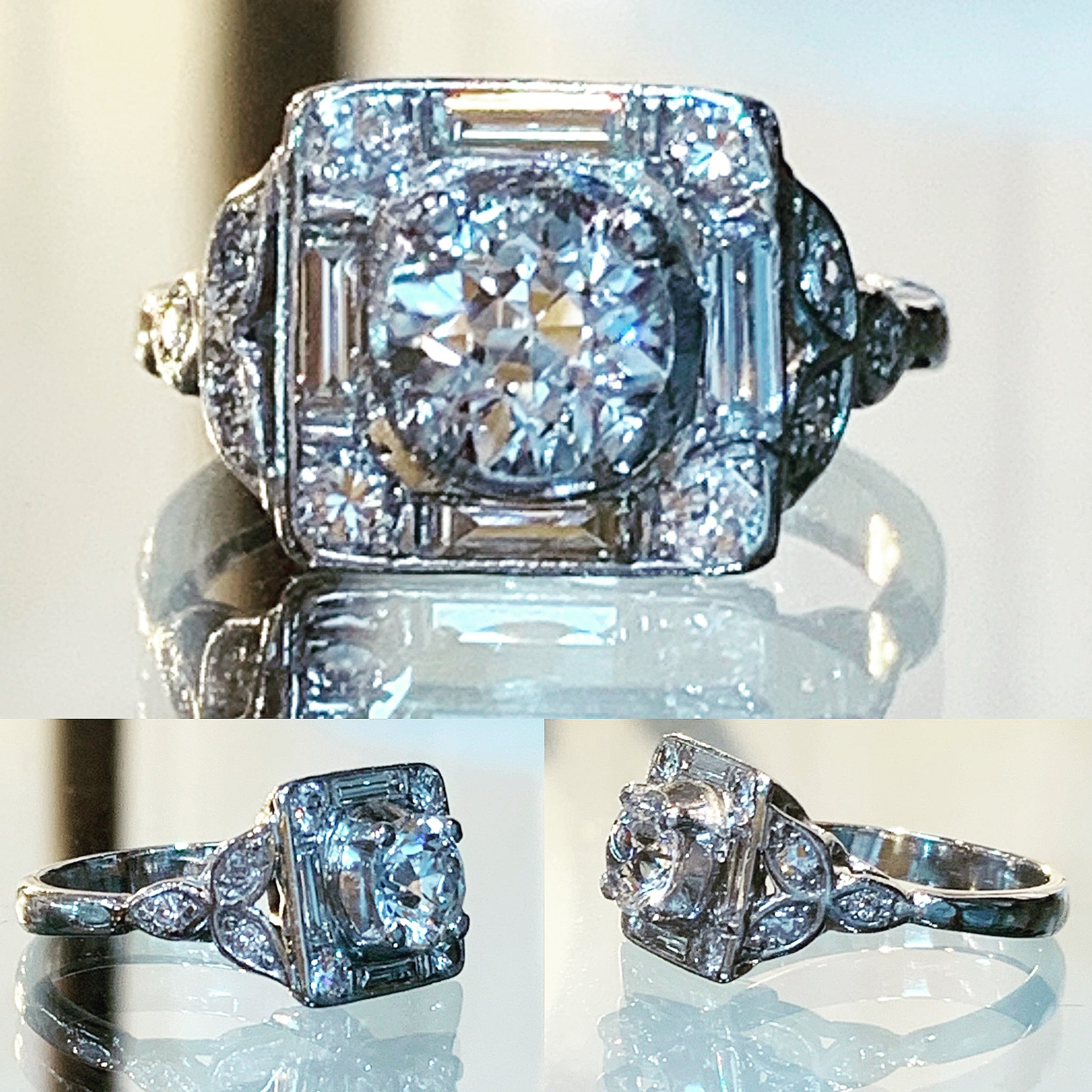 Art Deco Square Ring
