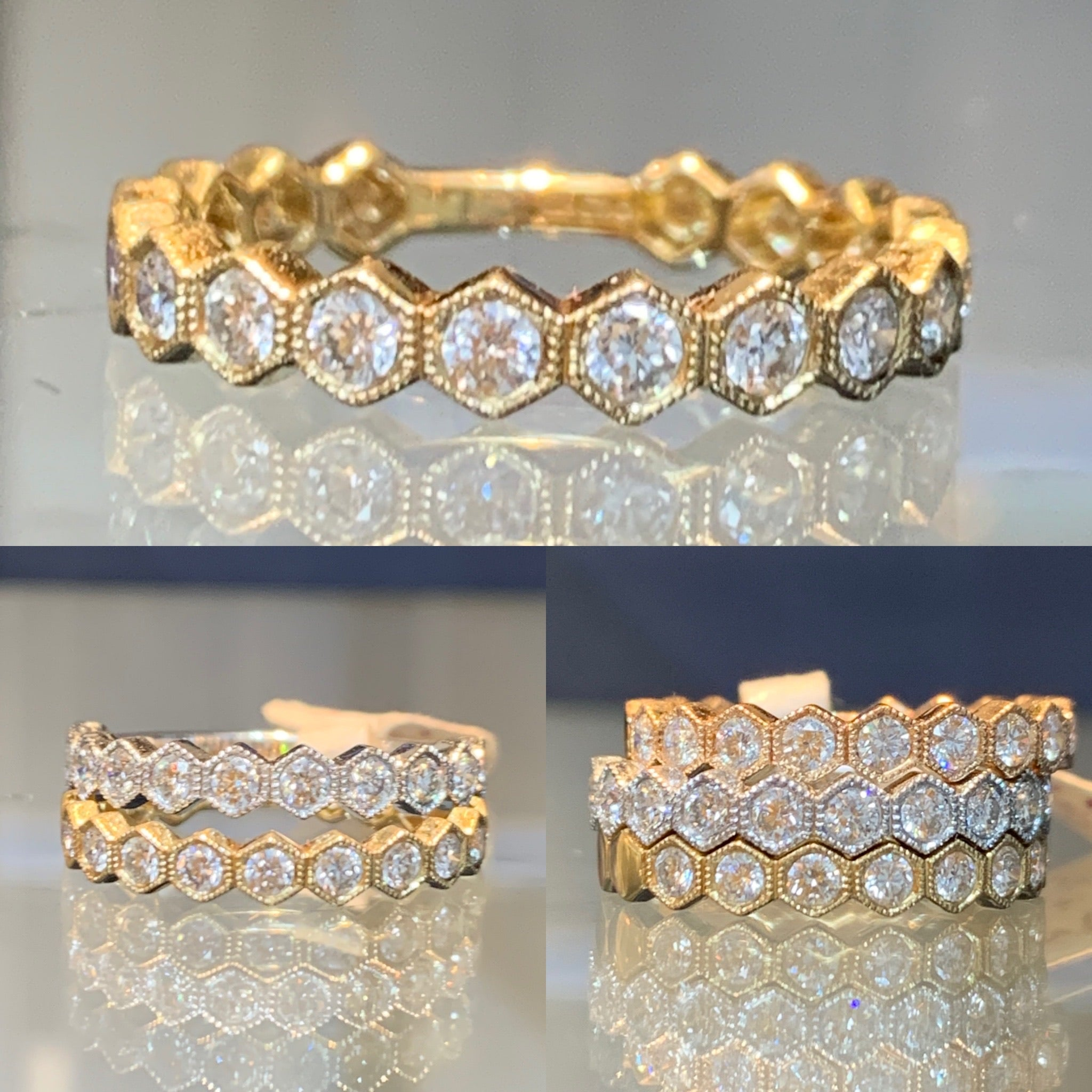 Honeycomb Stack Band