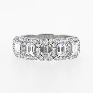 The Emerald Cut Halo