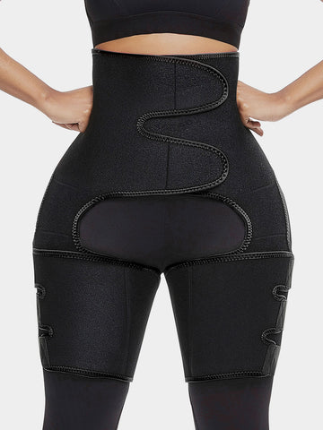 Pre Order-Upgraded Neoprene Waist with Thigh Trimmer at Godress