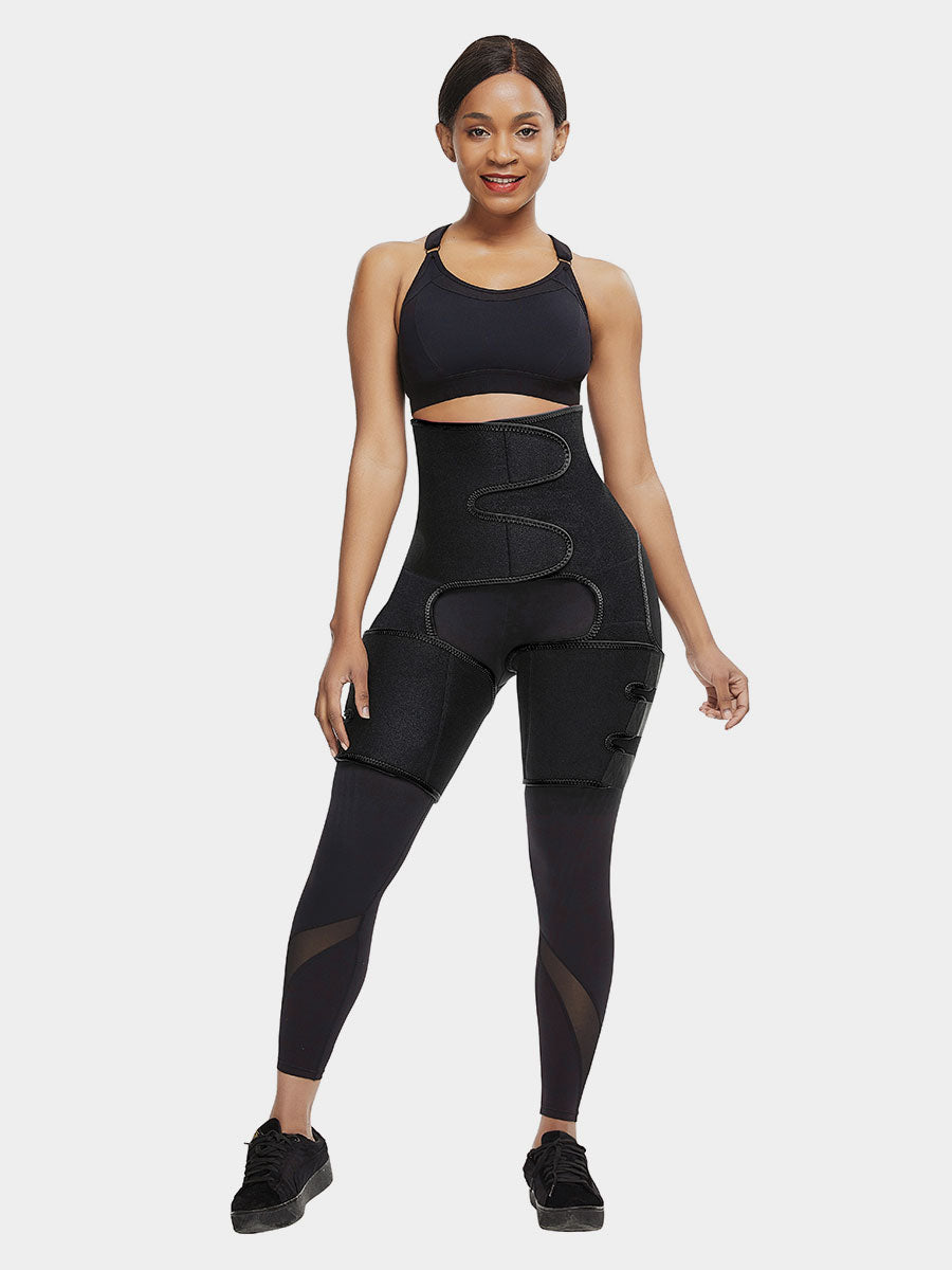 Upgraded Neoprene Waist with Thigh Trimmer at Godress - godress
