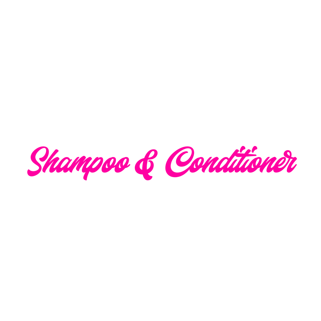 Shampoo & Conditioner Combo For Luxury Wigs