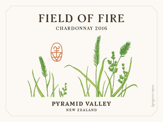 2016 Field of Fire Chardonnay