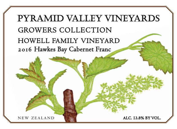 2016 Howell Hawke's Bay Cabernet Franc