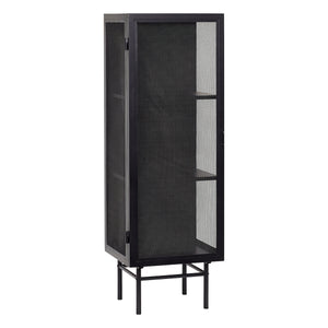 Single Door Iron Mesh Cabinet | Design Vintage