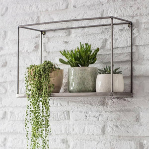 Simple Metal Box Shelf