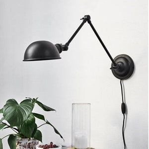 Aura Black Wall Lamp | Design Vintage