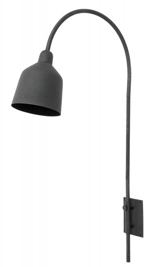 City Black Wall Lamp