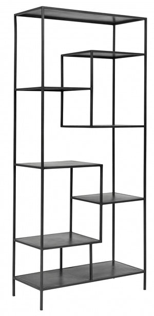 Tall Iron Display Unit