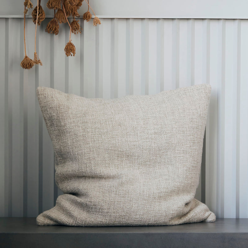 Adah Natural Linen Cushion