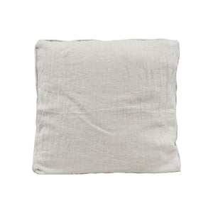 Kanpur Beige Linen Cushion
