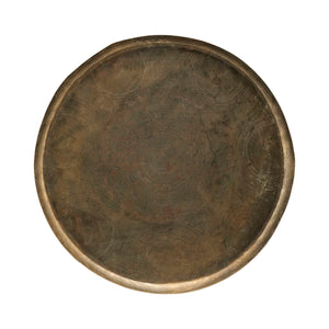 Jhansi Antique Brass 80cm Tray | Design Vintage