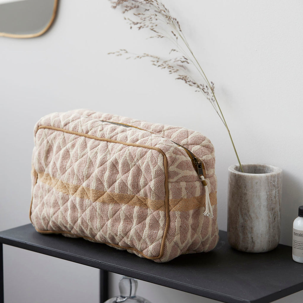 Meraki Mustard Wash Bag