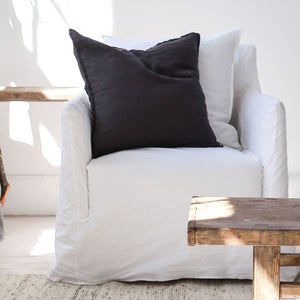 50cm Carbon Linen Cushion