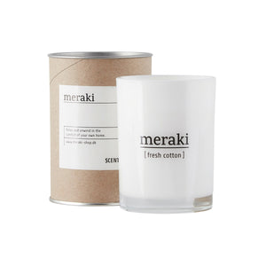 Meraki Cotton Candle | Design Vintage