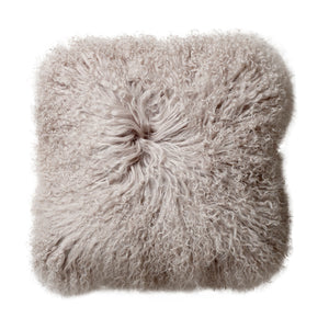Mongolian Lambskin Cushion