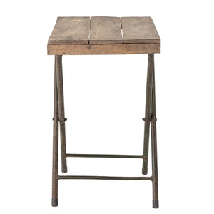 Recycled Wood Tray Table