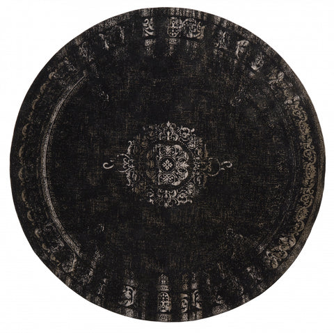 Round Grand Woven Rug