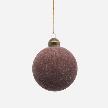 Sparkly Plum Bauble | Design Vintage