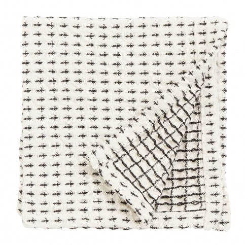 Black & White Waffle Dish Cloth | Design Vintage