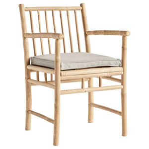 Bamboo Dining Arm Chair | Design Vintage