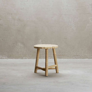 Mini Bamboo Stool