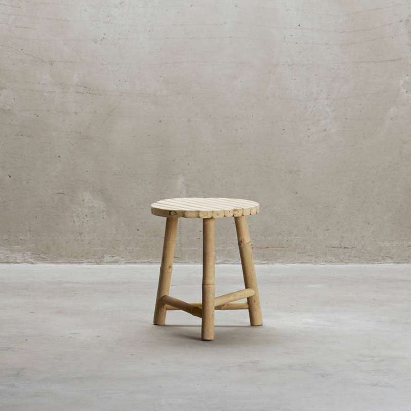 Mini Bamboo Stool | Design Vintage