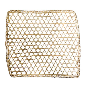 Square Bamboo Wall Decoration | Design Vintage