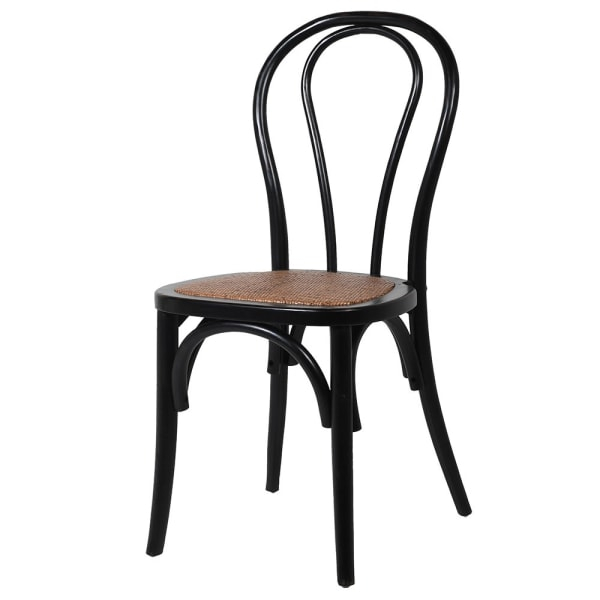 Black Retro Dining Chair