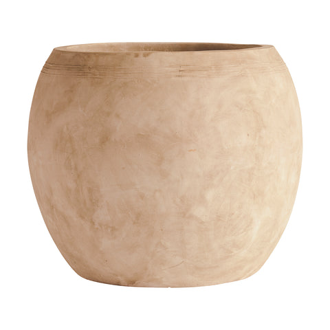XL Globe Clay Pots