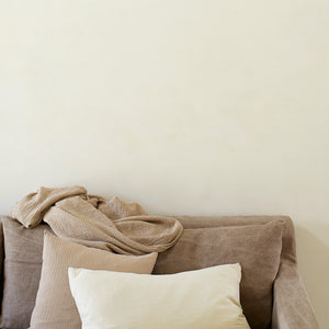 White Bomuld Cushion | Design Vintage
