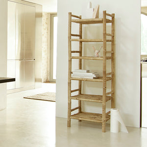 Tall Bamboo Shelving