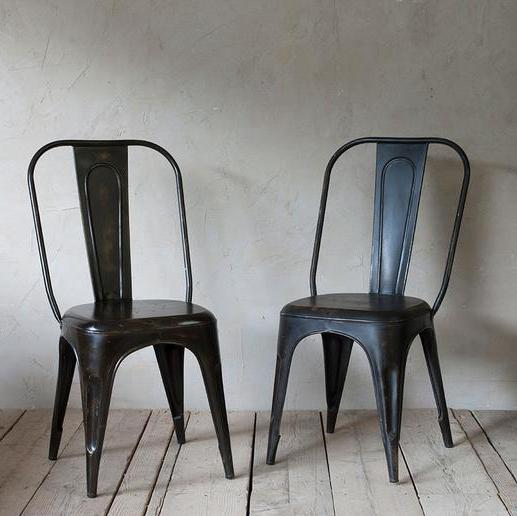 Industrial Iron Chair | Design Vintage