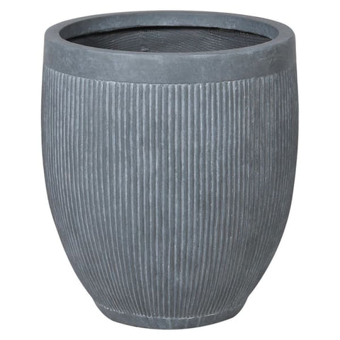 Grey Dolly Tub Planter