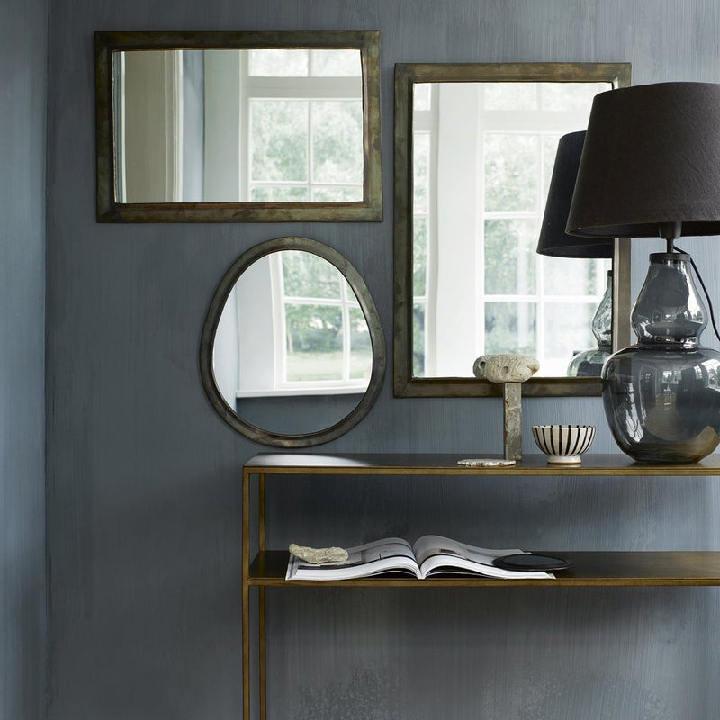 Honey Iron Console Table