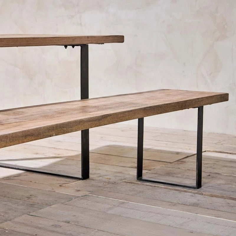 Industrial Mango Bench