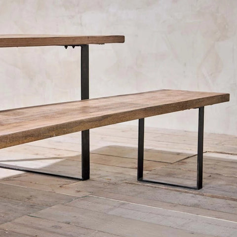 Industrial Mango Bench | Design Vintage