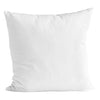 White Bomuld Cushion