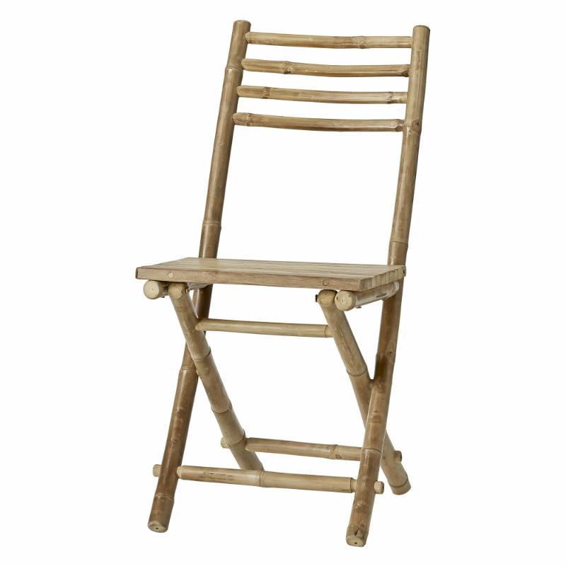 Folding Bamboo Outdoor Chair