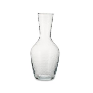 Hammered Glass Jug