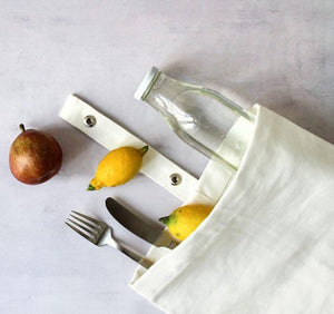 Organic Cotton Lunch Bag | Design Vintage