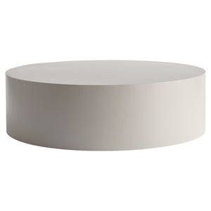 Grey Metal Drum Table