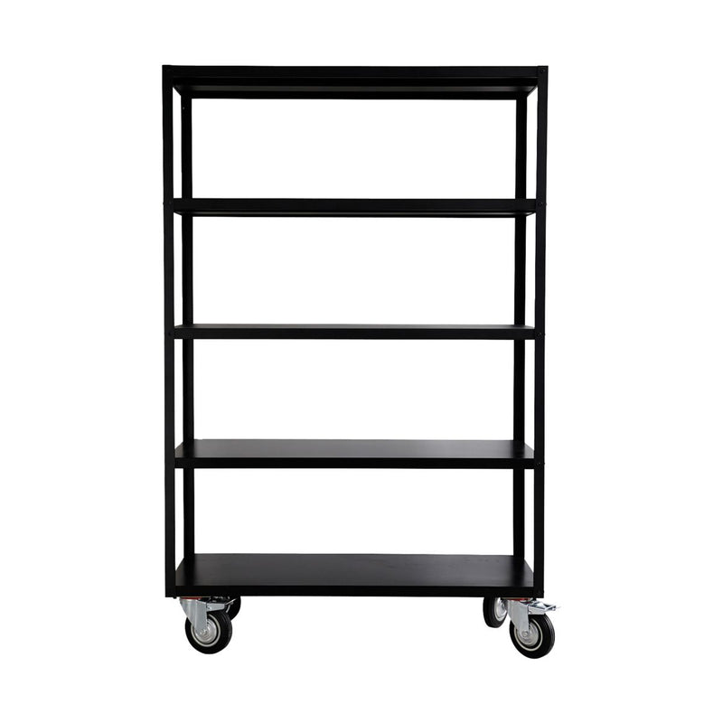Matt Black Iron Trolley | Design Vintage
