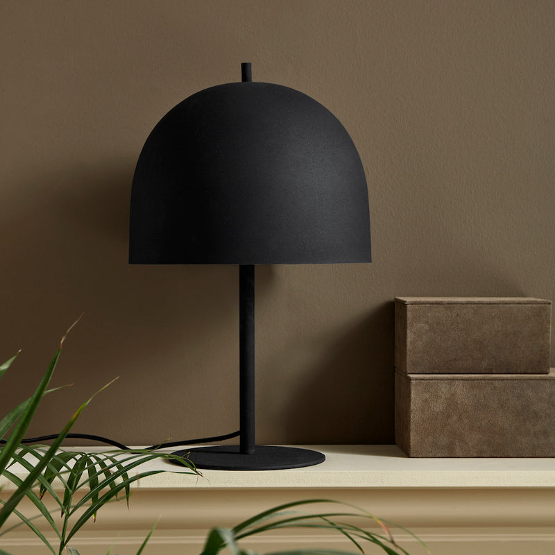 Matt Black Table Lamp