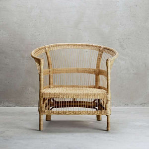Lounge Rattan Chair | Design Vintage