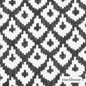 Phantom Grey Ikat Napkins