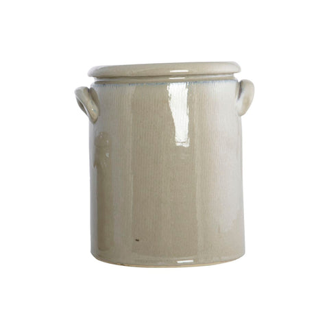 Large Pottery Flowerpot | Design Vintage