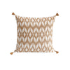 Oat Ikat Cushion
