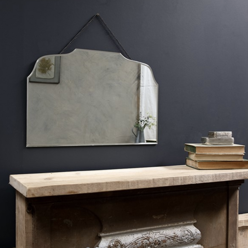 Vintage Shaped Wall Mirror